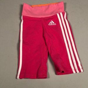 Adidas Toddler Girls Warm up sweat pants.